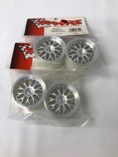 "4 Traxxas 4872 Wheels satin finish 2.0 to fit 1.9"" tires NIP RC Car M06-5"