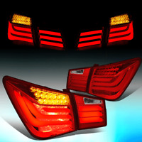 FOR 2010-2016 CHEVY CRUZE LIMITED 3D LED TUBE BAR+TURN SIGNAL TAIL LIGHT//LAMPS