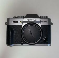 Fujifilm X-T20 Mirrorless Digital Camera - Silver (Body, Battery, Charger, USB)