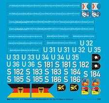 Peddinghaus 1/40 3344 Marine Allemande U-31-U36 Tags
