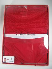 CALVIN KLEIN Cami Hipster Panty Gift Set Red QF1341-623 Small New NIB $68