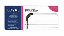CAKE SAW LEVELLER Loyal large 3 blade baking decorating tool wedding birthday