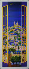 FANCH LEDAN WINDOWS ON PARIS SERIGRAPH (FREE SHIPPING!)