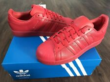 ADIDAS Superstar Adicolor Mens Trainers, Red - Size 7