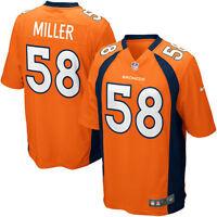 NFL 2019  Denver Broncos Von Miller #58 Licensed Jersey NIKE ON FIELD ALL SIZES