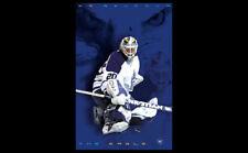 Vintage Original ED BELFOUR THE EAGLE Toronto Maple Leafs 2003 NHL Hockey Poster