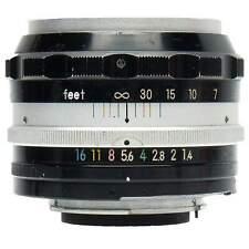 Nikon 5.8cm f1.4 Nikkor-S Non-AI Lens