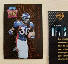 1997 Playoff Zone TERRELL DAVIS Frenzy GOLD Parallel Card #5/5 ***SUPER RARE***