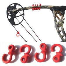Fa- 4Pcs Archery Bow Chord Stabilizer Monkey Tail Silencer Subtense Damper Set