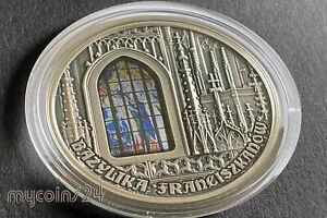 CAMEROUN 2019 - 2000 Francs CFA Basilica in Cracow 2oz