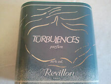 Vintage TURBULENCES Parfum By Revillon 15ml Splash Women's Fragrance Collectable