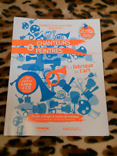 FRANCOFOLIES - Livre+CD, 19e éd. : Chanteurs & peintres - CNDP - 2012-2013