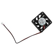 3 Pcs 4cm 2 Pin CC Ventilador refrigeracion CPU Ventilador sin cepillo 12VDCE9R8