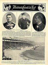 Von den olympischen Spielen in London ( Aufmarsch vor der Königsloge ) 1908