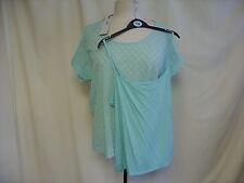 Per Una Polyester Cap Sleeve Hip Length Women's Tops & Shirts