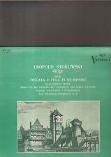 LEOPOLD STOKOWSKI dirige BACH toccata e fuga in re minore LP