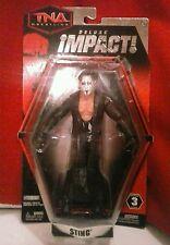2010 JAKKS PACIFIC TNA DELUXE IMPACT SERIES 3 STING ACTION FIGURE