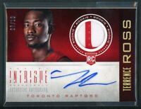 2012-13 TERRENCE ROSS 07/10 AUTO PATCH PANINI INTRIGUE ROOKIE RC #153 AUTOGRAPHS