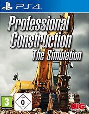 PS4 Baumaschinen Die Simulation NEU&OVP Playstation 4 Professional Construction