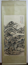 RARE Chinese 100% Hand Painting & Scroll Landscape By Huang Binhong 黄宾虹 MM4