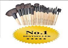 New BOBBI BROWN Portable Face Makeup Brushes Set w/ Case 24-Piece Free Shipping