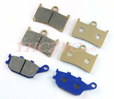 Front Rear Motorcycle Brake Pads Set for YAMAHA YZF R1 2004 2005 2006
