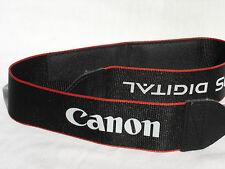 """CANON EOS Digital CAMERA NECK STRAP  Soft Model  1 1/2"""" Wide  #00244"""