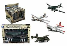 NEWRAY CLASSIC WWII BOMBERS TRANSPORTER PLANES MODEL KITS ASSORTMENT LOCKHEED