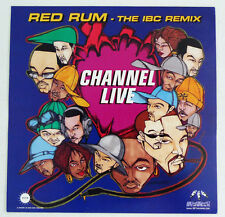 Channel Live Red Rum - The IBC Remix Promotional Glossy Paper Sticker Decal