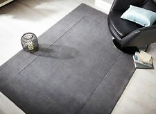 SALE Tuscany Siena Light Grey Supersoft Wool Rug in various sizes and runner