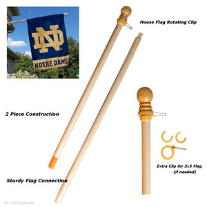 Wood 5 Foot Flag Pole