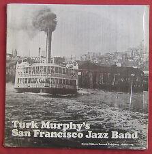 TURK MURPHY'S SAN FRANCISCO JAZZ BAND  LP ORIG US