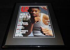Will Smith 11x14 Framed ORIGINAL 1997 US Magazine Cover Men in Black
