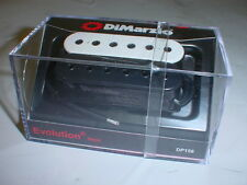 DIMARZIO DP158 Evolution Neck Humbucker Guitar Pickup BLACK/WHITE REGULAR SPACED