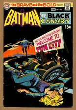 Brave and the Bold #91 - Batman and Black Canary! - 1970 (Grade 7.0) WH