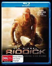 Riddick : NEW Blu-Ray