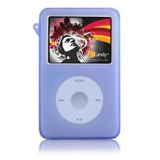 iCandy Silicone Case for iPod classic  w/Armband-BLUE