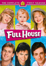 Full House - The Complete First Season (Dvd, 2012, 4-Disc Set)