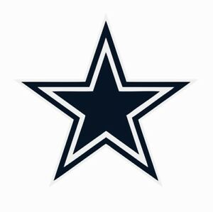 Dallas Cowboys NFL Football Color Logo Sports Decal Sticker - Free Shipping