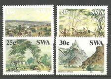 Südwestafrika-Namibia 1987 Historisches Südwestafrika Satz postfr. Mi. 600-603