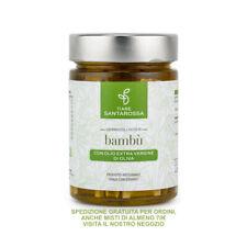 Germogli di Bambù Interi in olio EVO - Vegano, Vegetariano, Km zero