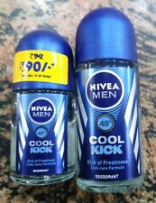 Nivea Men Deodorant 48 Hour Cool Kick 0% Alcohol - 25 ml / 50 ml