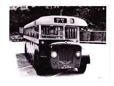 Original Vintage Photograph Chai Wan 8A Mini Bus Hong Kong 8 x 6 Black & White