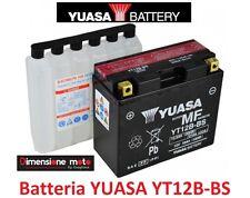 "Batteria YUASA YT12B-BS 12V-10Ah ""MF"" per DUCATI  ST4 916 dal 2000 al 2003"