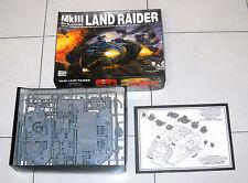 WARHAMMER 40.000 MKIII LAND RAIDER Space Marine tank Veicolo corazzato 40k 40000