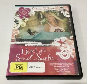 Heart of a Soul Surfer Special Edition DVD Includes Poster