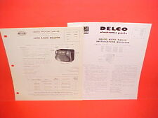 1948 PONTIAC TORPEDO STREAMLINER UNITED MOTORS DELCO GM RADIO SERVICE MANUAL 2