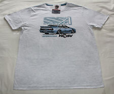 Holden HSV Mens VL SS Walkinshaw Grey Printed Short Sleeve T Shirt Size 3XL New