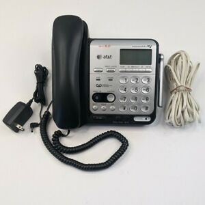 AT&T CL84200 DECT 6.0 Expandable Phone System Digital Answering System Base