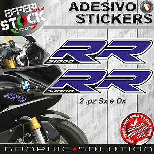 Stickers/Stickers Compatible BMW S 1000 RR 08-16 HP4 Motorcycle Blue Top Quality